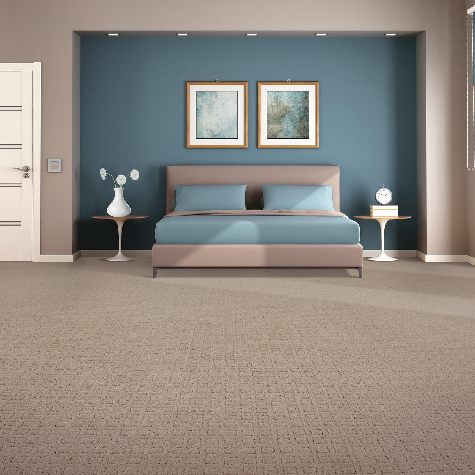 Traditional Beauty of bedroom | Floorida Floors