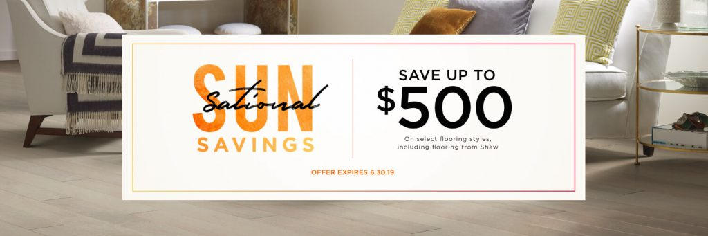 Sun sational savings in Tallahassee, FL | Floorida Floors