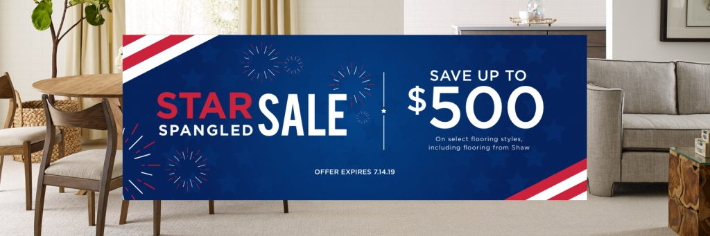 Star spangled sale banner | Floorida Floors