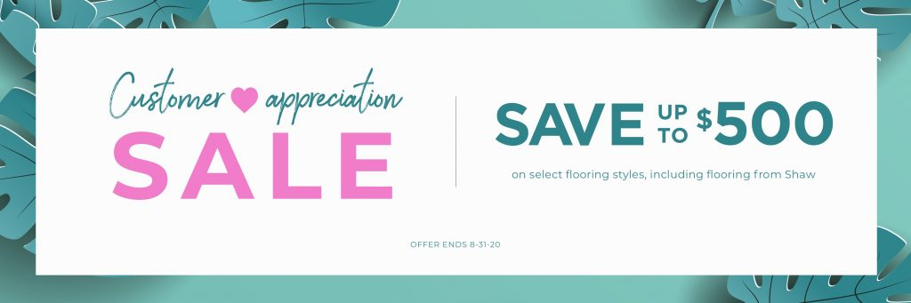 Customer Appreciation Sale | Floorida Floors