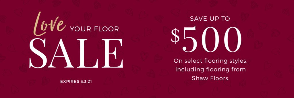 Love Your Floor Sale | Floorida Floors