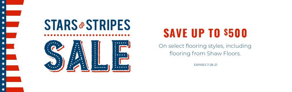 Stars & Stripes Sale